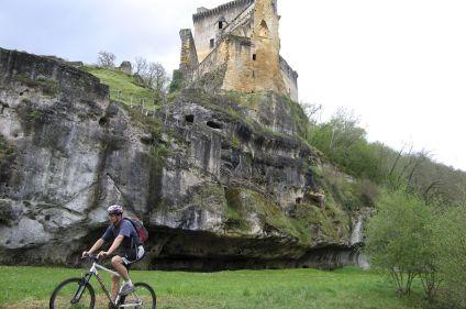 La vallée de la Dordogne à vélo
