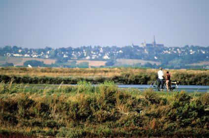La presqu'île de Guérande depuis La Baule à vélo