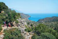 Crète, côte sud bleu azur