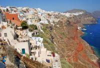 De la côte crétoise à la caldeira de Santorin