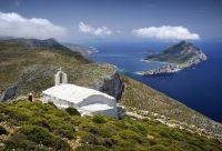 Cyclades : Santorin, Amorgos et Naxos