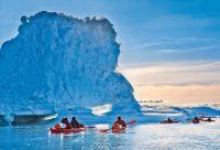 Kayak et randonnée entre icebergs et glaciers