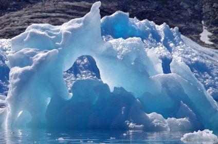 Icebergs et aurores boréales dans l'objectif