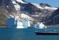 La côte est du Groenland