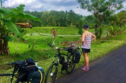 Volcans, plages et rizières : Bali et Java à vélo