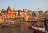 Varanasi et fleuve sacré
