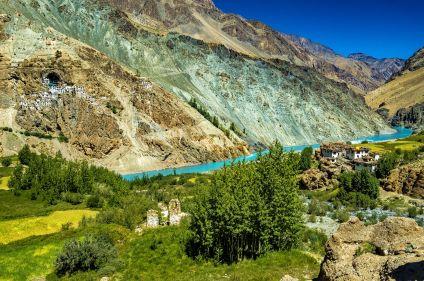 Vallée de la Tsarap et montagnes du Zanskar