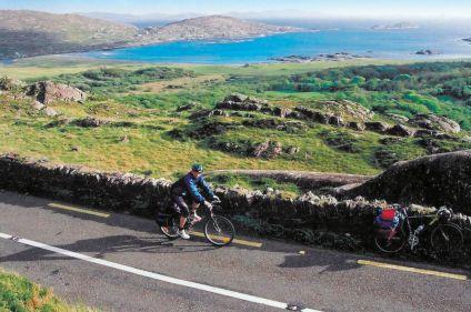 La côte du Kerry à vélo