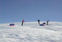 Expédition à ski et pulka en Islande