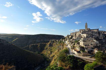 Les villages de Basilicata et des Pouilles