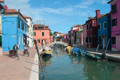 Découverte à vélo de la lagune de Venise