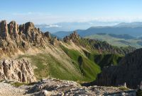 Dolomites, espace vertical