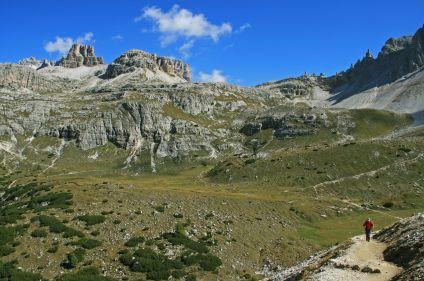 Sur la route des Dolomites