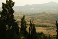 Sur les crêtes de Toscane du sud