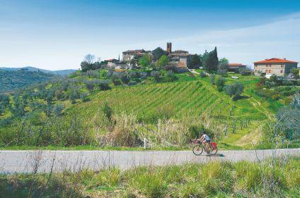 De Florence à Pise à vélo