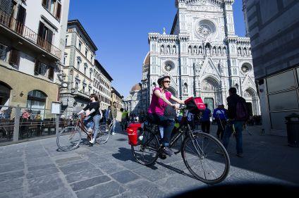 A vélo de Venise à Florence