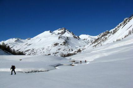 Découverte du Val Maira en raquettes