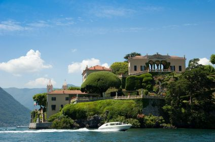 Villas et jardins du lac de Côme