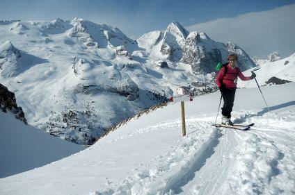 Dolomites en ski de rando