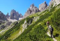 La grande traversée des Dolomites