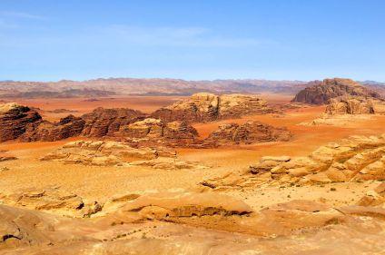 Vie bédouine du wadi Rum à Petra