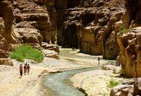 Les canyons de la mer Morte