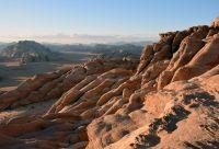 Cité antique de Petra, désert du wadi Rum