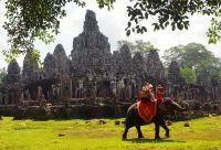 Temples et cocotiers