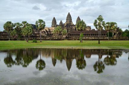 Le Cambodge, d'Angkor au rivage de Kep