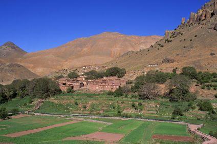 Vallées sauvages et villages de la Tessaout