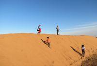 Randonnée chamelière et palmeraie marocaine