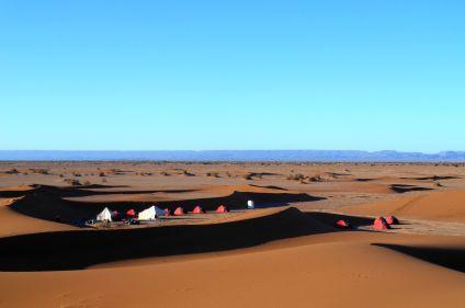 Un séjour dans les dunes