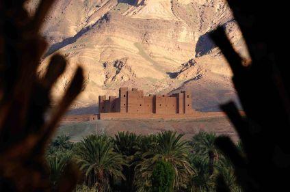 Dunes de Tazzarine et casbah du Drâa