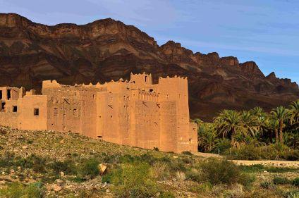 Casbah du Drâa et désert