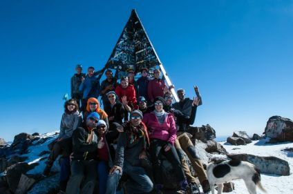 Toubkal, ascension sportive
