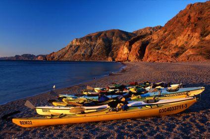 Kayak de mer en Basse-Californie