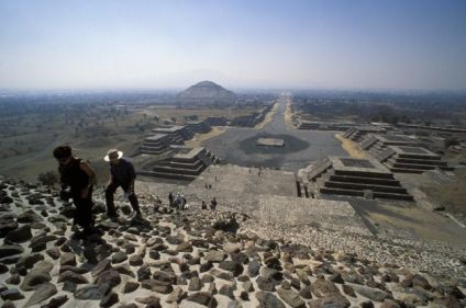 Mexico et Teotihuacán