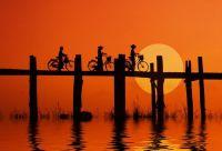 A vélo sur les sentiers birmans
