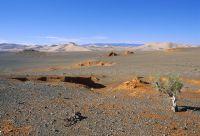Randonnée dans le désert de Gobi