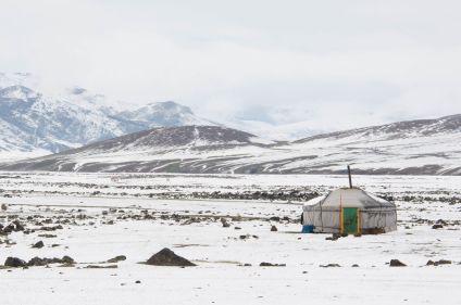 Le Gobi en hiver