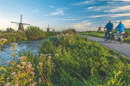D'Amsterdam à Bruges à vélo