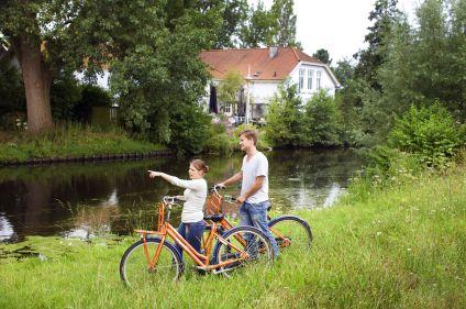 La Hollande à vélo : plages et châteaux en famille