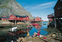Kayak et randonnées sur les îles Lofoten