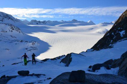 Ski et voile dans les Alpes de Lyngen