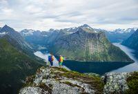 Fjord de Geiranger et Alpes de Sunnmøre