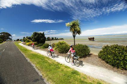 Authentique Nouvelle-Zélande à vélo