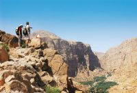 Canyons et wadis du sultanat