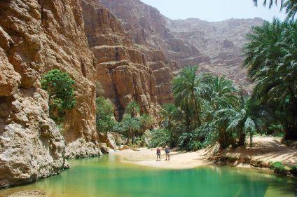 Montagnes et oasis d'Oman