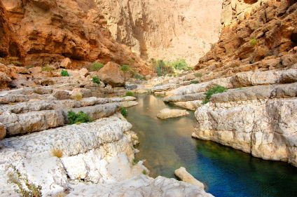 Les canyons et dunes ondulantes d'Oman