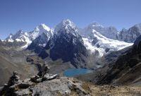 Trekking au pied de l'Alpamayo